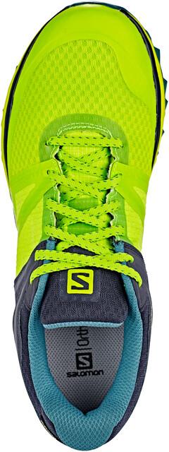 Salomon Trailster GTX Shoes Herre acid limegraphitehydro